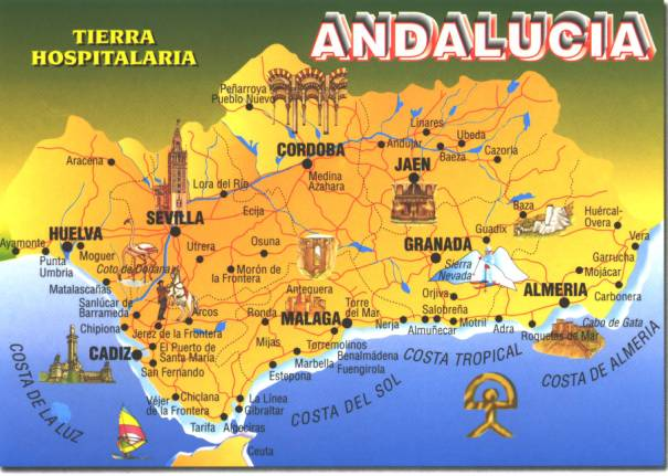 Andalucia Related Keyw...