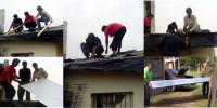 trabajos en vivienda tras incendios