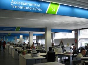 Oficinas del sepe en barcelona tasa de paro for Oficina electronica inem