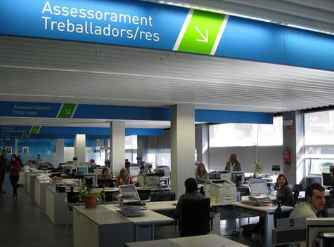 Oficinas del sepe en barcelona tasa de paro for Oficinas seguridad social barcelona horarios